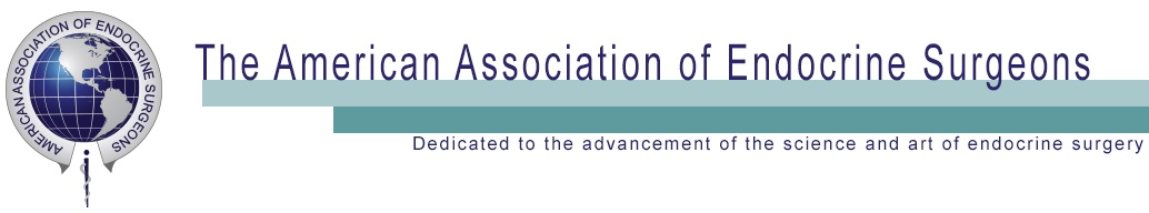 The American Association of Endocrine Surgeons 2021 Annual Meeting Abstract Submission Deadline